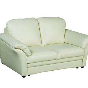 Kožené sofa Marcelino s úložným prostorem