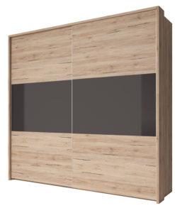 Šatní skříň Laurinda s posuvnými dveřmi