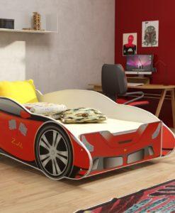 Dětská postel Závodní auto 2