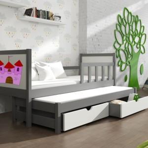 Dětská postel s přistýlkou Evita 29