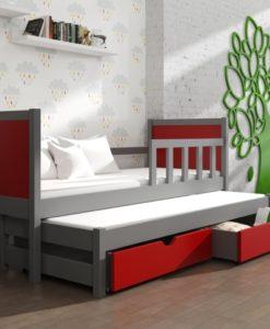 Dětská postel s přistýlkou Evita 32