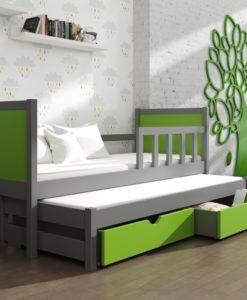 Dětská postel s přistýlkou Evita 34