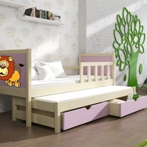 Dětská postel s přistýlkou Evita 35