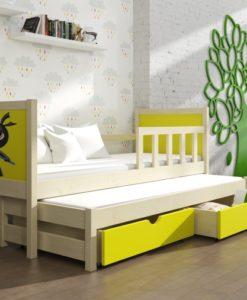Dětská postel s přistýlkou Evita 38