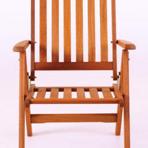 Dřevěná zahradní židle Adan