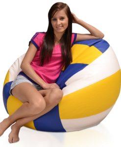 Sedací míč Volejbal XL