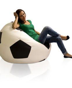 Sedací vak - míč Fotbal XXL