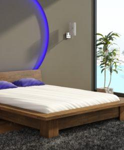 Dřevěná postel Turid v několika rozměrových variantách