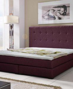 Čalouněná manželská postel Nyla