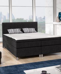 Čalouněná manželská postel Senida