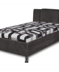 Čalouněná postel Monako - černá
