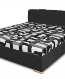 Čalouněná postel Violetta - černá
