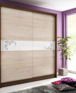 Šatní skříň s posuvnými dveřmi Medeila 11