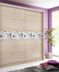 Šatní skříň s posuvnými dveřmi Medeila 12