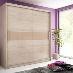 Šatní skříň s posuvnými dveřmi Medeila 6