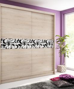 Šatní skříň s posuvnými dveřmi Medeila 8