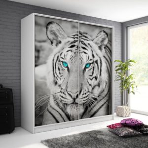 Šatní skříň s tygrem Monela 9
