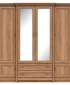 Šatní skříň se zrcadlem Lord 2
