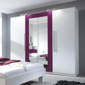 Šatní skříň se zrcadlem Veria