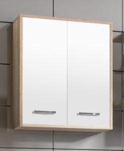Široká závěsná skříňka do koupelny Arion 6