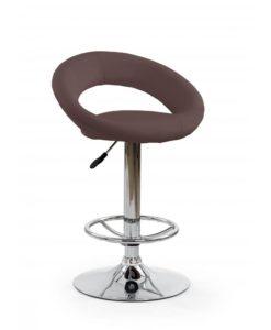 Barová židle Idra 4 - hnědá