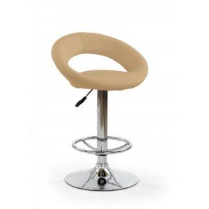 Barová židle Idra 5 - tmavě béžová