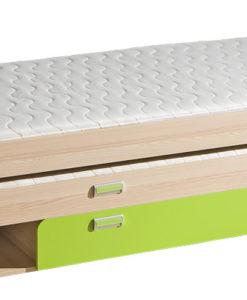 Dětská jednolůžková postel s přistýlkou Bambi 2