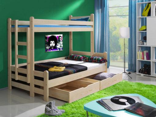 Dětská patrová postel Jadisa