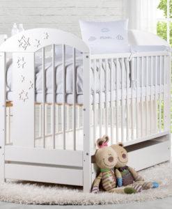 Dětská postýlka s úložným prostorem Annabel