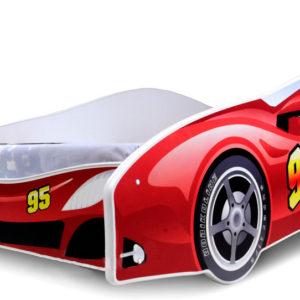 Dětská postel Auto červené