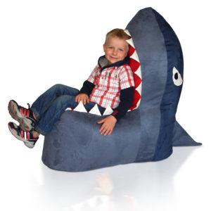 Dětský sedací vak Žralok