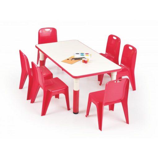 Dětský stůl Marty 2 - červený