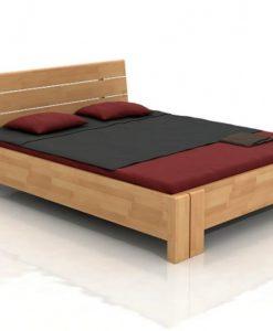 Dřevěná postel s úložným prostorem Inge