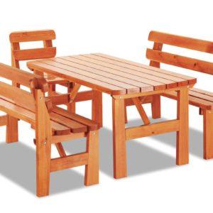 Dřevěný zahradní set Amari 2
