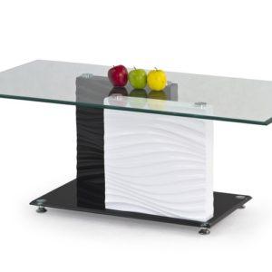 Dvoubarevný konferenční stolek Sidem