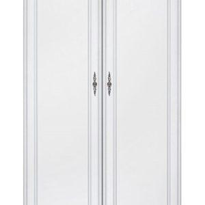 Dvoudveřová šatní skříň Lettore 1 - bílá