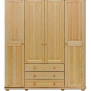 Elegantní kombinovaná šatní skříň Malfid
