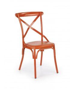 Jídelní židle Amiela 1 - oranžová