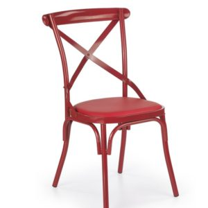 Jídelní židle Amiela 4 - červená