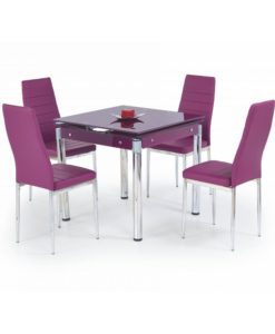 Jídelní set pro 4 osoby Orsol 2 - fialový