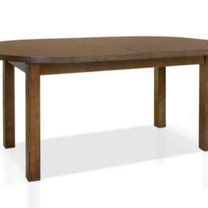Jídelní stůl Lorena s oválnou rozkládací deskou