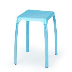 Jídelní taburet Rainan 2 - modrý