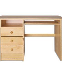 Jednoduchý dřevěný psací stůl Elias