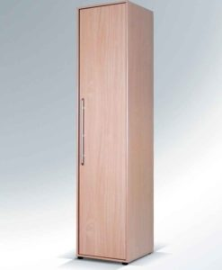 Jednodveřová šatní skříň Nora