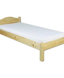 Jednolůžková postel Erlinda z masivu borovice