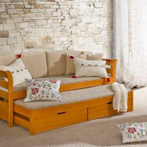 Jednolůžková postel s přístýlkou Taurus