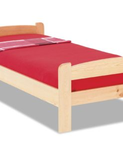 Jednolůžková postel z masivu Sonia
