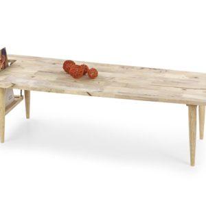 Konferenční stolek z kaučukového dřeva Gideon