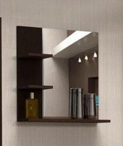 Koupelnové zrcadlo s poličkami Konkord