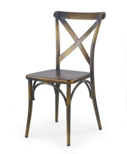 Kovová jídelní židle Doren 3